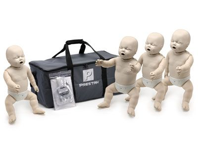 Prestan Infant Manikin with rate monitor - 4 pack